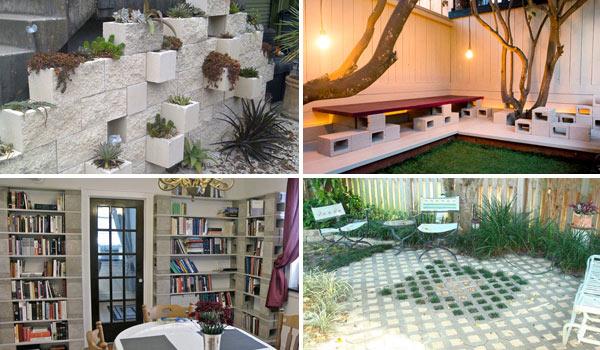 Inspiracje #7 Kreatywne wykorzystanie kształtek kominowych