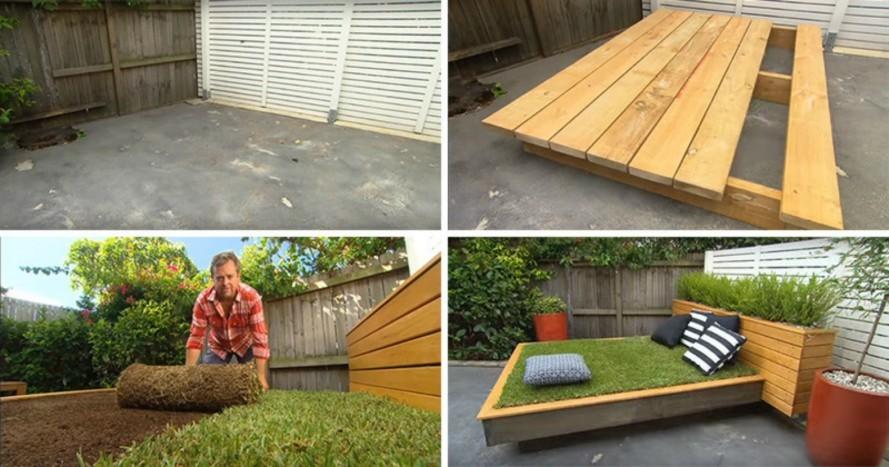 Jak zrobić niezwykłe letnie łóżko ogrodowe