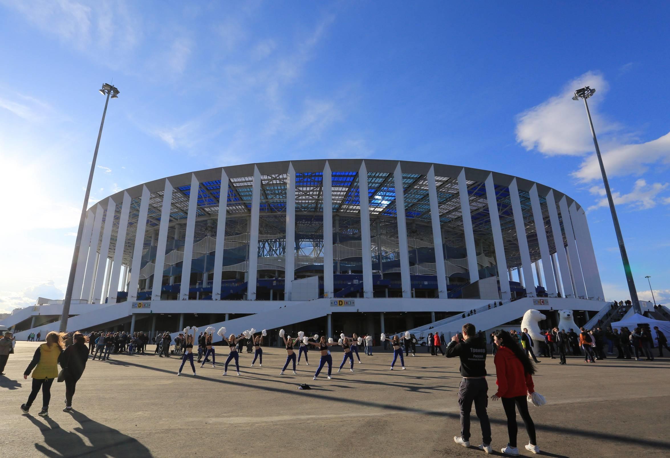 Stadiony Mistrzostw Świata w Rosji