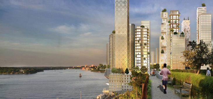 Drewniany wieżowiec – Szwedzi chcą ich wybudować 31. W jednej dzielnicy…